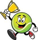 Tennis,Success,Gold Colored,Ilustration,Vector,Award,Sports Race,Competitive Sport,Jogging,Running,Cartoon,Trophy,Cup,First Place,Mascot,Sprint,Athlete,Circle,Tennis Ball,Winning,Exercising,Jumping,Ball,Sport,sports and fitness,Equipment,Green Color,Characters
