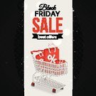 Shopping Cart,Xmas Shopping,Black Friday,Winter,Season,Event,Christmas,Flyer,New Year's Eve,Night,Glowing,Decoration,Ilustration,2015,Gift,Defocused,Label,Year,Backgrounds,Celebration,Shiny,Vector,Abstract