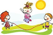 Child,Outdoors,Sun,Preschool,Competition,Energy,Smiling,Happiness,Play,Playful,Playing,Rope,Enjoyment