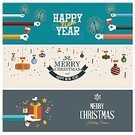 Gift,Holiday,Flat,Christmas,Ilustration,Backgrounds,Vector,Sign,Banner,Design Element,Computer Icon,Ornate,Decoration,Concepts,Snowflake,Blue,Winter,Greeting,template,Part Of,Abstract,Red,Old-fashioned,Happiness,Design,Set,New,Celebration,Year,Modern,Label,Greeting Card
