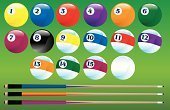 Pool Cue,Pool Game,Pool Ball,Pool Table,Ball,Eight Ball,Ilustration,Sport,Vector,Pub,Sports And Fitness,Individual Sports,nine ball,Design,Felt,Cue Ball