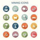 Mining,Coal,Miner,Diamond,Fossil Fuel,Sign,Fuel and Power Generation,Symbol,Men,Factory,Mineral,Work Tool,Digging,Construction Industry,Multi Colored,Energy,Gold,Vector,Industry,Icon Set,Railroad Track,Dump Truck,Refinery,Manual Worker,Train,Bomb,Station,Equipment,White,Conveyor Belt,Pick Axe,Shovel,Cave