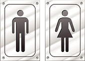 People,Accessibility,Symbol,Sign,Domestic Room,Domestic Bathroom,Metal,Backgrounds,Hygiene,Child,Adult,Toilet,Illustration,Metallic,Group Of Objects,Males,Men,Boys,Females,Women,Vector,Human Gender,Background,Bathroom