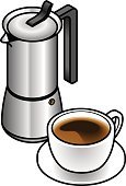 Machinery,Milk,Espresso,Fat,Cup,Cappuccino,French Press,Flat,Cream,Full,Cooking Pan,On Top Of,Lid,Java,Half Full,Isometric,Coffee Pot,Restaurant,Long,Latte,Making,Mocha,White,Stove,Italian Culture,Heat - Temperature,Drink,Black Color,Middle Eastern Ethnicity,American Culture,Three Dimensional,Coffee - Drink
