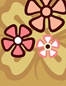 Little Girls,Flower,Vanilla,Backgrounds,Pattern,Psychedelic,Fashion,Small,1970s Style,Ilustration,Circle,Springtime,Design,Pink Color,Cool,White,Brown,Art Deco,Vector,Sparse,Petal,Summer,Ice,Style,Deco,Kitsch,Beige,Time,Concepts And Ideas,Freshness,Plant,Illustrations And Vector Art