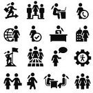 People,Image,Equipment,Symbol,Gear,Desk,Teamwork,Connection,Success,Achievement,Telephone,Business,Technology,Flag,Office,Briefcase,Interview,Chart,Globe - Man Made Object,Occupation,Manager,Handshake,Working,Laptop,Sphere,Silhouette,Greeting,Global Business,Computer Icon,Adult,Multiple Image,Ponytail,Global Communications,Job Interview,Telephone Receiver,Illustration,Battle Of The Sexes,Cubicle,Community,CEO,Women's Rights,Part of a Series,Large Group Of People,Females,Women,Only Women,Businesswoman,Building Exterior,Clipping Path,Vector,Human Resources,Computer,Femininity,Wireless Technology,Adults Only,Using Laptop,Clip Art,Silhouette,Global,Design Element,Icon Set,Coworker,Colleague,,