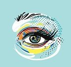 Eye,Computer Graphics,Pop,Glamour,Beauty Product,Cool Attitude,Creativity,Eyeshadow,Technology,Human Body Part,Human Eye,Eyelash,Design,Paintings,Drawing - Art Product,Moving Up,Looking,Making,Star Shape,Pattern,Backgrounds,Beauty,The Way Forward,Computer Graphic,Adult,Young Adult,Art And Craft,Art,Comic Book,Poster,Abstract,Illustration,Cartoon,Iris - Eye,Stage Make-Up,Painted Image,Females,Women,Fashion Model,Half Tone,Eyesight,Vector,Fashion,Computer,Retro Styled,Print,Beautiful People,Background,Fashionable