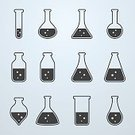 Test Tube,Beaker,Symbol,Computer Icon,Laboratory,Scientific Experiment,Tube,Medical Test,Science,Vector,Analyzing,Bottle,Container,Flask,Medicine,Biology,Ilustration,Research,Isolated,Design,Sign,Education,Pharmacy,Glass - Material,Equipment,Healthcare And Medicine,Liquid,Chemistry