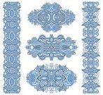 Ilustration,Computer Graphic,filigree,Fashion,Blue,Pattern,Vignette,Frost,Stencil,Nobility,Textile,Embroidery,Decoration,Abstract,Tattoo,Vector,Aristocratically,Backgrounds,Ornate,Decor,Curve,Wedding