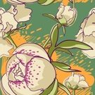 Peony,Flower,Multi Colored,Ornate,Decoration,Ilustration,Green Color,Floral Pattern,Abstract,Arrangement,Seamless,Plant,Drawing - Art Product,Elegance,Vector,Pink Color,Art,Summer,Blossom,Leaf,Springtime,Nature,Backgrounds,Flower Head,Outline,Drawing - Activity,Botany,Repetition,Pattern