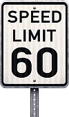 Speed Limit Sign,Speed,Metal,Galvanized,Standing,Shadow,Warning Sign,USA,Forbidden,Road Sign,Vertical,Rod,Pole,Traffic,Driving,Textured Effect,No People,Attached,Isolated On White,Clip Art,Rivet - Work Tool,Photo-Realism,Imperial,Speed Control,American Culture,White,Tall,Modern,Slow,Warning Symbol,Danger,retro reflective,Information Medium,Ilustration,Vector,Single Object,Square Shape,Mile,Textured,Legislation,Road Warning Sign,Isolated,Black And White,Color Image,Steel,Front View,Sign,Number 60