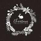New Year's Eve,Christmas,Chalk Drawing,Ornate,Christmas Decoration,Wreath,Pine Tree,2015,Holiday,Mistletoe,Single Flower,Backgrounds,Fun,Wishing,template,Vector,Greeting,Berry,Poster,Season,Symbol,Leaf,Invitation,Night,Greeting Card,Celebration,Circle,Branch,Winter,Gift,Picture Frame,Flower,Happiness,Old-fashioned,Cultures,Ilustration,Fir Tree,Design Element,Nature,Retro Revival,Humor,New Year,December,Drawing - Activity,Design,stylization