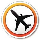 Label,Pushing,Paper,Orange Color,Web Page,www,Circle,Insignia,Internet,Design,Airplane,Airport,Air Vehicle,Vector,Commercial Airplane,Isolated,Sign,Yellow