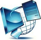 Computer,Computer Monitor,Paper,Letter,Vector,Typescript,Global Communications,Business,Wire Frame,Communication,Liquid-Crystal Display,delivered,Connection,Blue,Visual Screen,Ideas,Concepts,Computer Graphic,Wide Screen,Flat Screen,Ilustration,Technology Backgrounds,Vector Icons,Communication,Illustrations And Vector Art,Concepts And Ideas,Technology