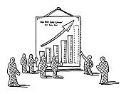 Presentation,Doodle,Teamwork,Graph,Men,Bar Graph,Poster,Shadow,Showing,Stick Figure,Businessman,Horizontal,Suit,Simplicity,Design Element,hand drawn,Clip Art,Black Color,black-and-white,Drawing - Art Product,Group Of People,Sketch,Line Art,Black And White,Arrow Symbol,White,Hanging,Male,Diagram,Concepts,Business,Success,Team,Meeting,Standing,Business Person,Aspirations,Full Length,People,Vector,Transparent,Positive Emotion,Single Object,Pen And Marker,Gesturing,Isolated On White,Ilustration,Togetherness