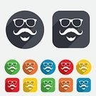 Men,Eyewear,Fashion,Beard,People,Father,Red,Multi Colored,Yellow,Mustache,Sign,Symbol,Computer Graphic,Application Software,Circle,template,Badge,Vector,Label,Token,Shape,Creativity,Backgrounds