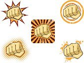 Fist,Punching,Exploding,Fighting,Symbol,Human Hand,Power,Knuckle,Vector,Violence,Strength,Aggression,Hitting,Halftone Pattern,Ilustration,Human Arm,Grunge,Furious,Thumb,Anger,Scratched,Splattered,Human Finger,Illustrations And Vector Art,Actions,Vector Cartoons,Vector Icons,Design Element