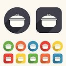 Casserole,Label,Token,Symbol,Sign,Stove,Shape,Creativity,template,Backgrounds,Circle,Application Software,Badge,Equipment,Soup,Computer Graphic,Vector,Yellow,Multi Colored,Red,Boiling,Stew,Kitchen Utensil,Heat - Temperature,Food,Saucepan,Cooking