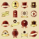 Hipster,Old,Part Of,Computer Graphic,Symbol,Sign,Insignia,Internet,Style,Cylinder,Banner,Classic,Text,Badge,Arrow Symbol,Business,Elegance,Text Messaging,Set,Old-fashioned,Sale,Design,Flat,Decoration,Label,Retro Revival,Vector,Identity,Store