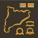 Map,Outline,Flag,Catalonia,At The Edge Of,Design Element,Computer Graphic,nation,Ribbon,In A Row,Drawing - Art Product,Estelada,Vector,Multi Colored,Yellow,International Border,Frame,Flat Design,Ilustration,Shape,Land,state,Backgrounds,Posing,Flat,Isolated,Design,Country - Geographic Area,Postage Stamp,Cartography,Old-fashioned,Senyera,Symbol,Red,Colors,National Landmark,Retro Revival