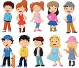 Team,People,Humor,Symbol,Looking At Camera,Human Body Part,Human Head,Human Face,Human Hair,Hairstyle,Human Hand,Waving,Family,One Person,Fun,Child,Teenager,Adult,Young Adult,Illustration,Cartoon,Group Of People,Males,Men,Boys,Women,Teenage Girls,Girls,Portrait,Vector,Characters,Fashion,Collection,Real People