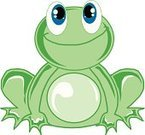 Frog,Cartoon,Child,Cute,Vector,Ilustration,Illustrations And Vector Art,Painted Image,Green Color