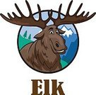 Animal,Nature,Animals In The Wild,Moose,Canada,Mascot,Zoo,Alaska,Wildlife,Elk,Animals Hunting,Stag,Humor,Cute,Forest,Isolated,Antler,Winter,Happiness,Horned,Large,Design,Wilderness Area,Ilustration,Cheerful,North,Symbol,Cartoon,Mammal,Christmas,Fun,Vector,Mountain,Deer,Animal Head,White,Season
