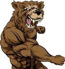 Bear,Brown Bear,Vector,Mascot,Anger,Displeased,Furious,Cheap,Animal,Cartoon,Monster,Roaring,Animal Teeth,Strength,Clip Art,Carnivore,Cruel,Characters,Ilustration,Punching,Brown,Symbol,Isolated,Power,Snarling,Aggression,Pride,Animal Themes