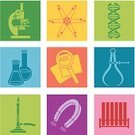 Laboratory,Science,DNA,Microscope,Engineering,Religious Icon,Symbol,Caliper,Computer Icon,Icon Set,Magnetic Field,Bunsen Burner,Atom,Pop Art,Test Tube,Scientific Experiment,Magnet,Magnifying Glass,Flask,Andy Warhol,Set,Vector,Glass - Material,Low-Scale Magnification,Clip Art,Ilustration,Measuring,Tubing,Flame,Examining,Scrutiny,No People,Horseshoe Magnet,Color Image,Science Symbols/Metaphors,Medicine And Science,Research