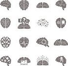 Human Brain,Sign,Thinking,Ilustration,Connection,Design,Telephone,Education,Technology,Mobile Phone,People,Computer Icon,Icon Set,Set,Business,Innovation,Intelligence,Green Color,Men,Concentration,Isolated,Black Color,Vector,Computer,Symbol,Internet,Collection,Design Element,user,Creativity,Ideas,Strategy,Painted Image,Web Page,Healthcare And Medicine,Inspiration