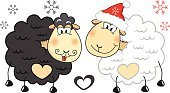 Symbol,Christmas,Year,Ilustration,Vector,New,Cartoon,Greeting,Cute,Sheep,Smiley Face,Santa Claus,Art,Winter,New Year's Eve,Red,Cheerful,Muton,Snowflake,Holiday,Postcard,White,Animal,Celebration,Animal Hand,Greeting Card,Happiness,Drawing - Activity,Snow,Humor,Fun,New Year's Day,Hat,New Year,Colors,Smiling,Design,Ram - Animal,Cultures
