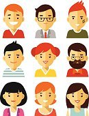 Used,People,Happiness,Symbol,Individuality,Business,Human Body Part,Human Head,Human Face,Eyeglasses,Profile View,Beard,Mustache,Human Hair,Design,Smiling,Teacher,Internet,Silhouette,Orthographic Symbol,Child,Teenager,Adult,Young Adult,Cut Out,Cute,Illustration,Flat,Cartoon,Males,Men,Boys,Females,Women,Teenage Girls,Portrait,Social Gathering,Vector,Student,Characters,Fashion,Produced,Silhouette,Icon Set,Avatar,Fashionable,Hipster - Person