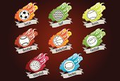 Volleyball,Volleyball - Sport,Tennis,Flame,Baseball - Sport,Ice Hockey,Vector,Golf,Soccer,Basketball,American Football - Sport,Symbol,Sport,Basketball - Sport,Icon Set,Computer Icon,Winter Sport,Hockey Puck,Baseballs,Vector Icons,Sports Symbols/Metaphors,Traditional Sport,Team Sport,Illustrations And Vector Art,Sports And Fitness,Sports Backgrounds