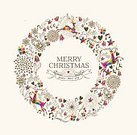 Christmas,Laurel Wreath,Symbols Of Peace,Holiday,Christmas Card,New Year's Eve,Modern,Music,Celebration,Abstract,Reindeer,Deer,New Year's Day,New Year,Computer Graphic,Christmas Ornament,Circle,Animal,Composition,Garland,Love,Christmas Decoration,Card Design,Greeting,Old-fashioned,Star Shape,Decoration,Textured Effect,Backgrounds,Wallpaper,Art,Event,Ornate,Winter,Label,Invitation,Retro Revival,Joy,Vector,Text,Ilustration