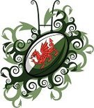 Rugby,Wales,Welsh Culture,Dragon,Rugby Ball,Ball,Sport,Rugby Post,Flag,Rugby Union,Rugby League,Goal Post,Six Nations,Team,Leisure Games,Competition,Ellipse,Green Color,Competitive Sport,Sports Symbols/Metaphors,Sports Team,Illustrations And Vector Art,Leisure Equipment,Sports And Fitness,Team Sports