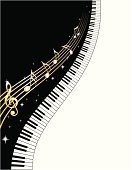 Piano,Music,Piano Key,Musical Note,Musical Theater,Backgrounds,Frame,Key,Vector,Gold Colored,Gold,Black Color,White,Star Shape,Eternity,pianokeys,Popular Music Concert,Vector Backgrounds,Music,Arts And Entertainment,Illustrations And Vector Art
