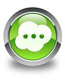 Blog,Internet,Urgency,Help,Live Event,Computer Icon,Circle,White,Symbol,Social Issues,Service,Green Color,Shiny,Three-dimensional Shape,Shadow,Talking,Talk,Human Brain,Bubble,Communication,Discussion,Interface Icons,Connection