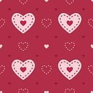 Heart Pattern,Love Pattern,Stitch,seamless pattern,Love,Wrapping Paper,Pink Color,Shape,Red,Heart Shape