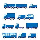 Pixelated,Symbol,Shape,Small,Vector,Group of Objects,Minibus,Car,Collection,Computer Graphic,Ilustration,Transportation
