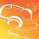 Headphones,Music,Silhouette,Musical Note,Backgrounds,MP3 Player,Vitality,Retro Revival,Orange Color,Vector,Cable,Sound,Book Cover,acoustics,Play,Stereo,Technology,Electrical Equipment,Nightlife,Single Object,Shape,Floral Pattern,Audio Equipment,Entertainment,Ilustration,Painted Image,Flower,Vector Backgrounds,Objects/Equipment,Music,Arts And Entertainment,Illustrations And Vector Art,Equipment