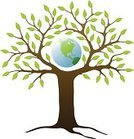 Tree,Earth,Bahrain Tree Of Life,Root,Globe - Man Made Object,Vector,Green Color,Environment,Origins,Branch,Leaf,Environmental Conservation,Ilustration,Planet - Space,Single Object,Nature,Protection,Map,Sphere,Isolated,Color Image,White Background,Isolated On White,Illustrations And Vector Art