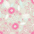 Floral Pattern,seamless pattern,Stitch,Appliqué,Embroidery,Tropical Climate,Leaf,Hibiscus,Vector,Fashion,Clothing Design Studio,Wool,Fiber,Petal,Ginger,Cotton,repeat pattern,vintage style,Single Flower,Flower,Pink Color