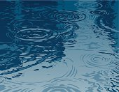 Water,Ripple,Rain,Pond,Puddle,Backgrounds,Abstract,Water Surface,Vector,Blue,Nature,Liquid,Concentric,Scenics,Ilustration,Wet,Color Image,Full Frame