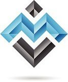 Sign,Square,Imagination,Modern,Creativity,Inspiration,Ilustration,Ideas,Geometric Shape,Angle,Blue,Curve,Style,Concepts,Design,Vector,Single Line,Technology,Black Color,Rectangle,Drawing - Art Product,Abstract,Computer Graphic,Shape,Computer Icon,Symbol,Design Element