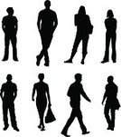 Silhouette,People,Men,Walking,Outline,Standing,Women,Vector,Shopping,Customer,Business,Ilustration,Adult,Computer Graphic,Simplicity,Waiting,Consumerism,Real People,Casual Clothing,Busy,Digitally Generated Image,White Background,Collection,Medium Group Of People,Teenager,Design,Design Element,Recruitment,Colors,Color Image,Part Of