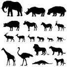 Symbol,Africa,Animal,Cheetah,Tapir,Hippopotamus,Chimpanzee,Collection,Elephant,Giraffe,Residential District,Kudu,Hyena,Alligator,Horse,Marmoset,Zoo,Wildlife,Rhinoceros,hunting-cat,Ostrich,Jackal,Crocodile,Zoology,Zebra,Lion - Feline,Mammal,Sign,Vector,Tropical Rainforest
