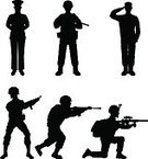 Armed Forces,Marines,Weapon,Outline,Adult,Aiming,Leadership,Sergeant,Backgrounds,Sniper,Handgun,Rifle,Men,Army,Officer,Standing,War,People,Gun,Conflict