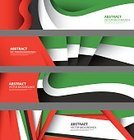 United Arab Emirates,Abu Dhabi,Flag,Dubai,Middle Eastern Ethnicity,Unity,Abstract,Collection,Colors,Multi Colored,Set,Backgrounds,White,Design,Computer Graphic,Day,Text,Style,Art,Poster,Persian Gulf Countries,Pattern,Elegance,Country - Geographic Area,Infographic,Independence,Art Product,Banner,Green Color,Black Color,Red,Arabic Style,Flyer,template
