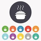 Sign,Soup,Saucepan,Stew,Food,Kitchen Utensil,Boiling,Heat - Temperature,Vector,template,Backgrounds,Multi Colored,Application Software,Computer Graphic,Cooking,Equipment,Yellow,Ilustration,Blue,Red,Circle,Badge,Creativity,Symbol,Stove,Label,Token,Shape,Casserole