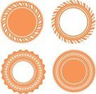 Circle,Collection,Old-fashioned,template,Symbol,Vector,Retro Revival,Frame,Elegance